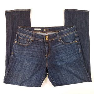Kut from the Kloth Cameron Straight Leg Blue Jeans